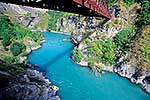 Bungy Jumper near Queenstown