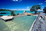 Salt water swimming pool Rangitoto