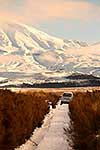 Mt Ruapehu 4WD in snow