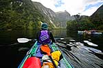 Kayakers Doubtful Sd, Fiordland