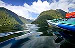 Kayaking, Doubtful Sd, Fiordland