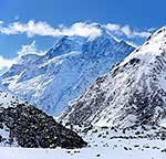 Aoraki Mt Cook from Hooker Valley