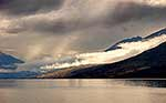 Early morning cloud at Lake Ohau