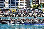Teams competing in Dragon Boat