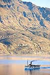 Historic Earnslaw crossing Wakatipu