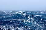 Stormy sea conditions