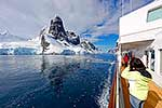 Cruising Lemaire Channel, Antarctica