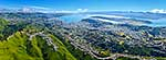 Wellington City aerial panorama
