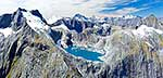 Fiordland Mountains & alpine lake