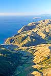 Makara Beach, Wellington, aerial