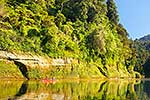 Canoeists on Whanganui River