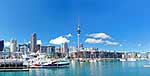 Auckland waterfront panorama