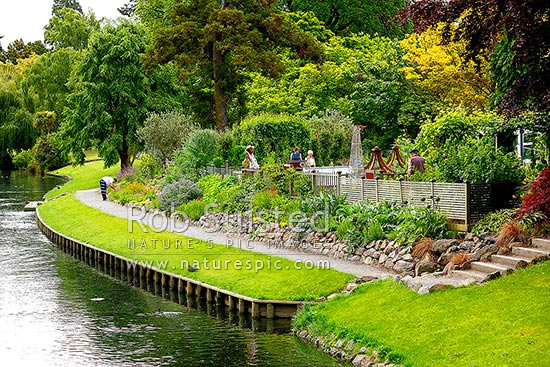 Christchurch botanical gardens curator 39 s house caf and for Landscape design west auckland