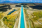 Tekapo power generation canal, MacKenzie Basin