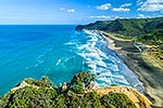 Lion Rock summit, Piha Beach, Auckland
