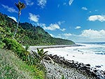 Heaphy track coast