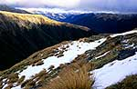 Lewis Pass & Valley with snow