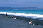 Fishing, South Wairarapa coast